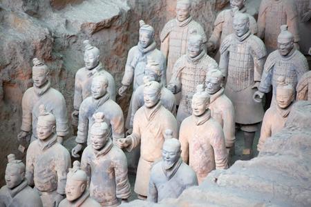 中国西安の兵馬俑 写真素材 - 91139677
