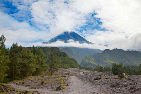 Bromo volcano on the Java island, Indonesia