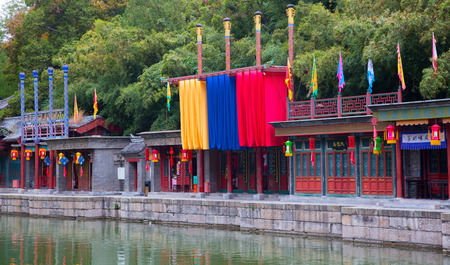 BEIJING, CHINA - OCTOBER 15, 2017: The Summer Palace, the Chinese imperial palace and garden from the Jin dynasty to the end of the Qing dynasty (1150 to 1912). Editorial