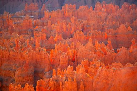 Park narodowy Bryce canyon w stanie Utah, USA Zdjęcie Seryjne