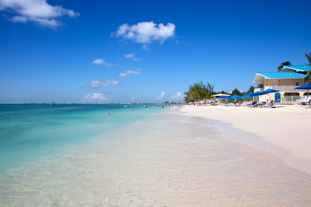 Luxury houses on the Grand Cayman island