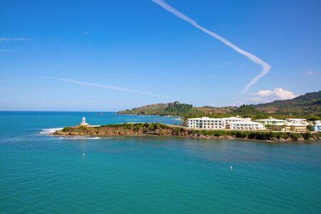 Amber Cove cruise terminal on Dominican Republic Banco de Imagens - 132115431