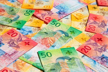 Sammlung der neuen Schweizer Banknoten (Ausgabe 2017)