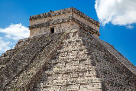 Ruins of the Chichen-Itza, Yucatan, Mexico Zdjęcie Seryjne - 130069651