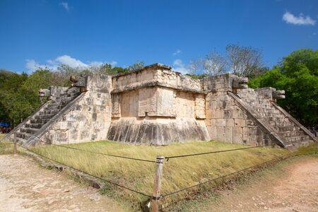 Ruins of the Chichen-Itza, Yucatan, Mexico Zdjęcie Seryjne - 130069736
