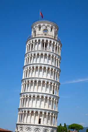 Leaning tower of Pisa, Italy Stock Photo - 132115219