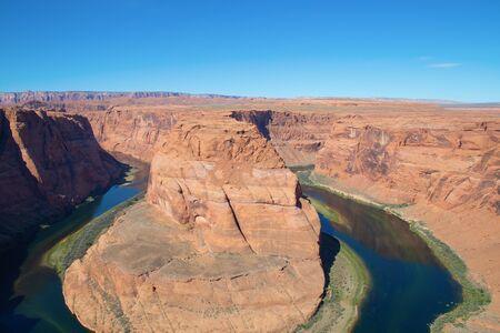 Famous Horseshoe canyon formation near Page, Arizona Standard-Bild