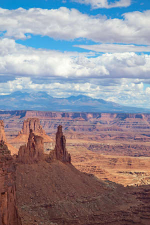"""""""Island of the sky"""" of the Canyonlands Narional Park in Utah, USA Stock fotó"""