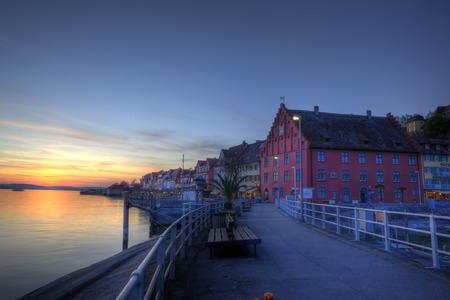 Blue hour Meersburg