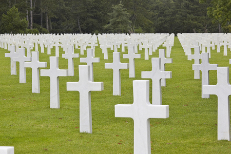 graves: American Graves D Day Normandy