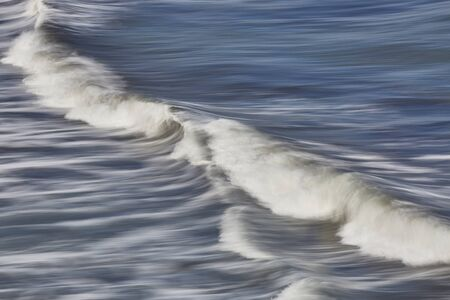 ocean waves: ocean waves motion iceland Stock Photo