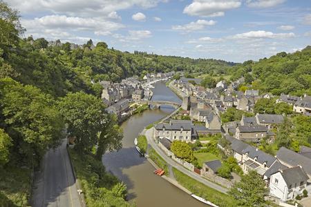 rance: Riverport Dinan, Brittany, France