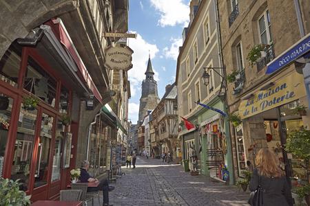 rance: Historical Village, Dinan, Brittany, France