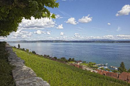 Lake Biel / Bienne Switzerland landscape