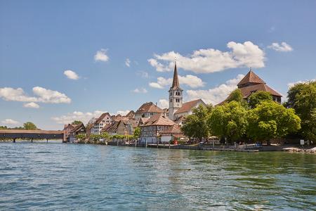Diessenhofen, view from cruise, Rhine