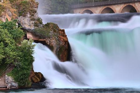 Rhinefall Switzerland Waterfall
