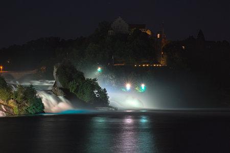 Rheinfall Schweiz Wasserfall