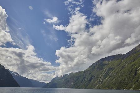 Fjordland in Norwegen Hurtigruten