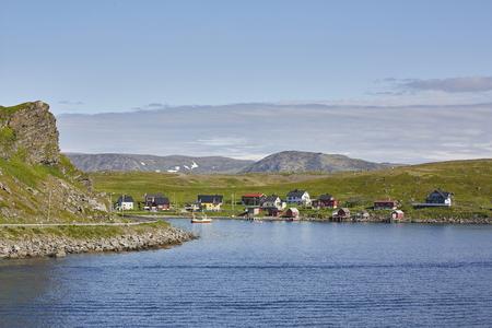 Havoysund Landschaft Norwegen