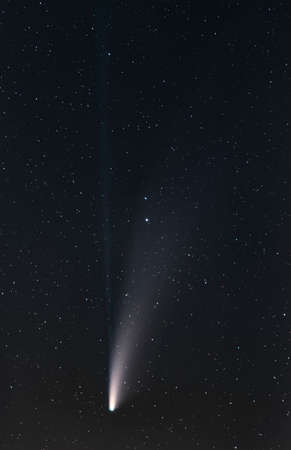 Comet C2020 f3 Neowise in Emmental in Switzerland. 19th July 2020