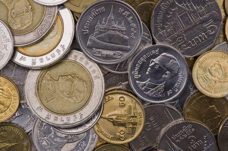 pi�ces de monnaie de la Tha�lande Banque d'images - 3665147