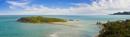 koh: ver en una peque�a isla en la playa de chaweng norte de koh samui, Tailandia