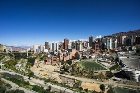 altitude: Panoramic View of La Paz, Bolivian