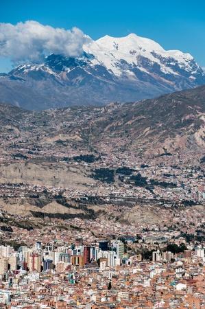 Panoramic View of La Paz, Bolivian photo