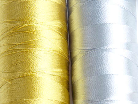 silver texture: Gold and silver thread texture
