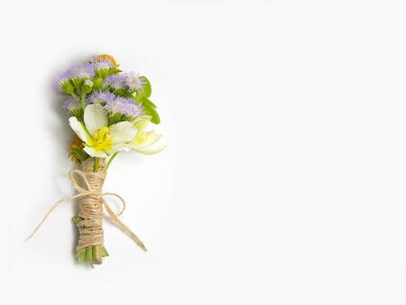 boutonniere: Beautiful boutonniere flower wedding background