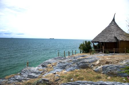 chonburi: This is the sea of Sichang island at Chonburi,Thailand Stock Photo