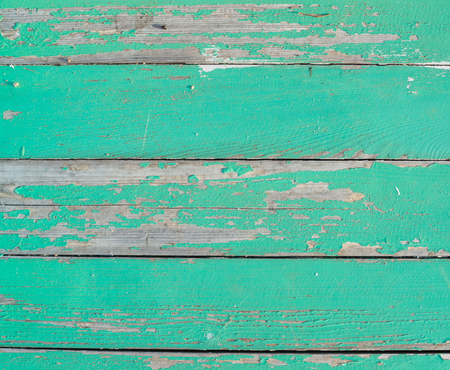 剥離ペイント ボードの古い木造壁。美しい背景。