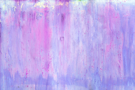 Abstract background. Wall with purple and blue spots and divorces.