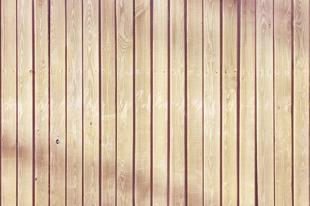Wooden fence of flat vertical boards, background. 写真素材
