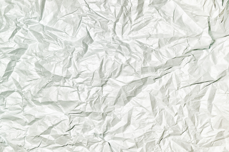 Texture of gray crumpled paper, abstract  for layouts.