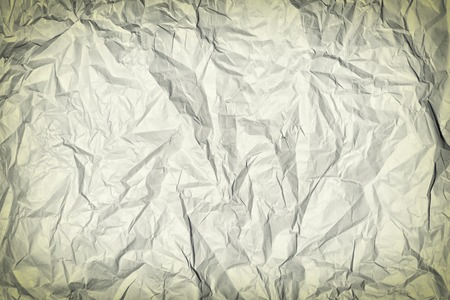 Crumpled gray paper.
