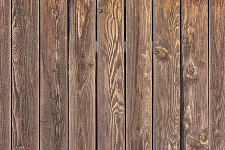 Planches verticales brunes. Banque d'images