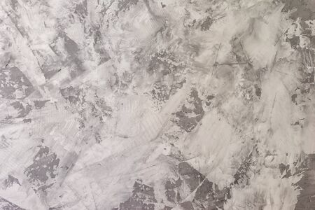 Gray decorative wall covering.