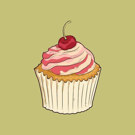 tortas de cumpleaños: cherrycupcake