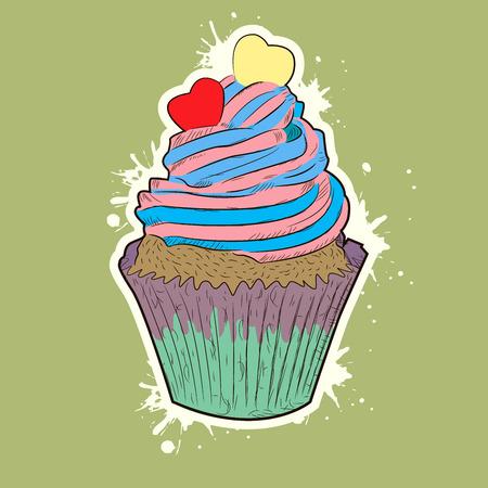 blueberry muffin: muffin