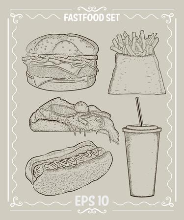 fastfood: fastfood set