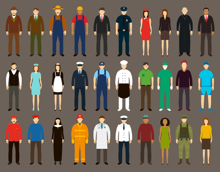 the profession: Profession People set. illustrations Illustration