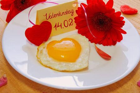 desayuno romantico: Desayuno rom�ntico d�a de San Valent�n.