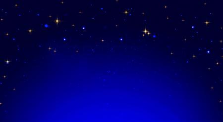 Christmas star abstract sky. Stock Photo