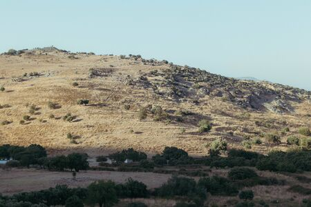 a very good looking wide shoot from a bold mountain. photo has taken at izmir/turkey.