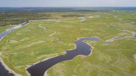 rancheros: Durante la estación seca, muchos ganaderos pueden usar la cuenca del río San Juan para alimentar y regar sus rebaños