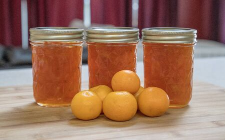 Kumquats have a sweet skin and sour interior but make great preserves or marmalade