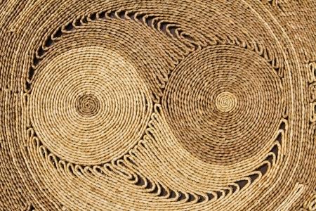 Circle textured handmade   Natural circular texture, Handmade with beautiful design   Stock Photo