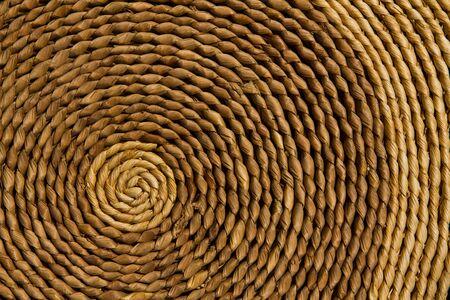 Circular texture background,  Natural circular texture, Handmade with beautiful design  Stock Photo