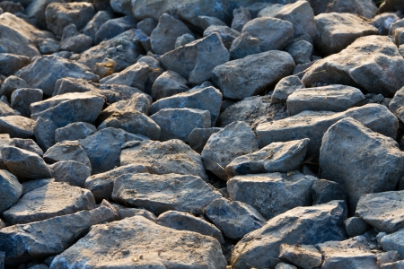 Stone with the sunrise,  Stone with the sunrise in the morning,